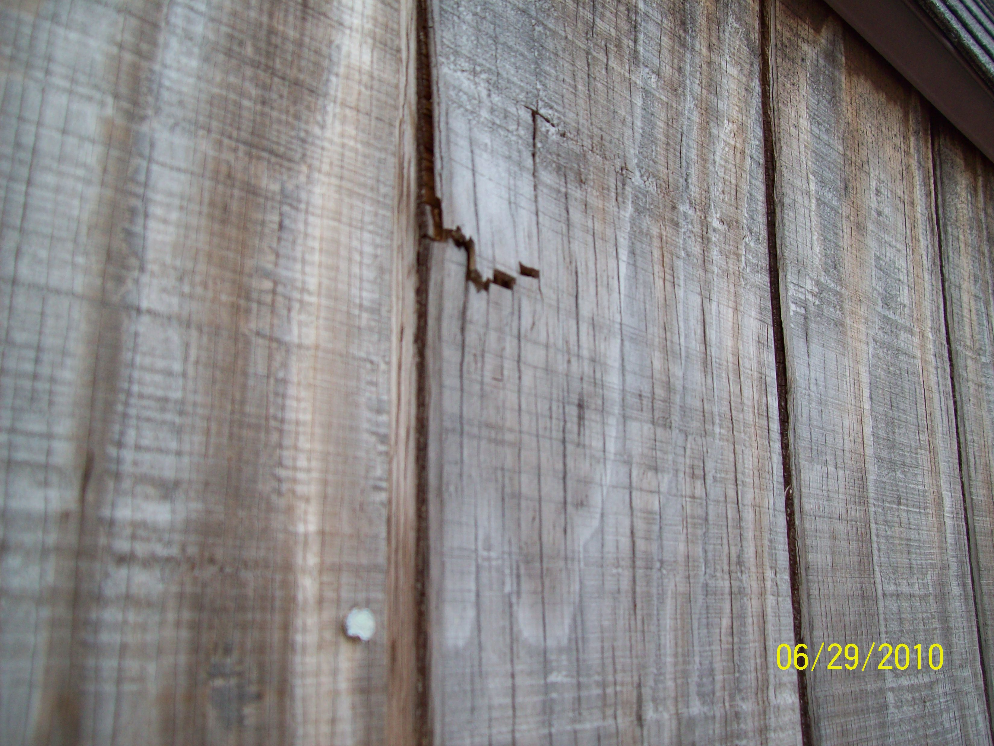 Wood Siding Repair Images Never Pressure Wash A Wood Deck